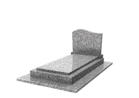monument 4 pièces stèle doucine avec base