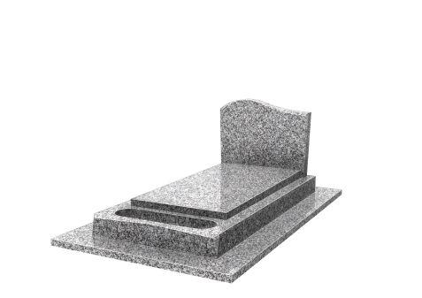 monument 4 pièces jardi. massive à moustaches stèle doucine