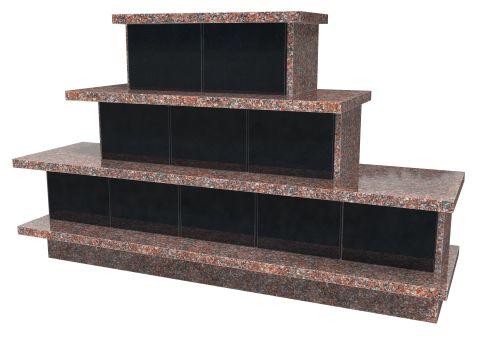 monument Pyramide 10 cases 40x40x35h