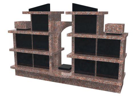 monument Venise-B 10 cases 40x40x35h